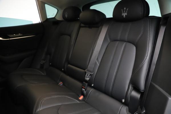 New 2021 Maserati Levante Q4 GranSport for sale $93,585 at Maserati of Greenwich in Greenwich CT 06830 20