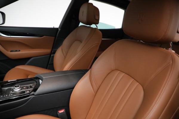 New 2021 Maserati Levante Q4 for sale $85,625 at Maserati of Greenwich in Greenwich CT 06830 16