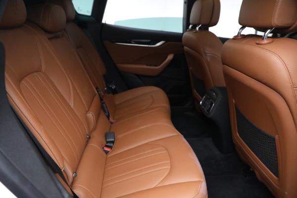 New 2021 Maserati Levante Q4 for sale $85,625 at Maserati of Greenwich in Greenwich CT 06830 26