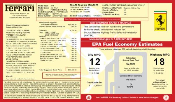 Used 2011 Ferrari 458 Italia for sale $179,900 at Maserati of Greenwich in Greenwich CT 06830 20