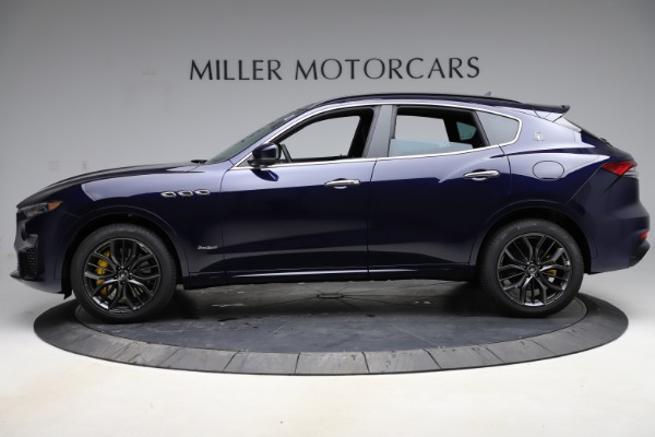New 2021 Maserati Levante S Q4 GranSport for sale $100,185 at Maserati of Greenwich in Greenwich CT 06830 3