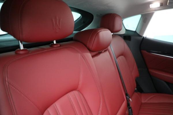 New 2021 Maserati Levante Q4 for sale $76,769 at Maserati of Greenwich in Greenwich CT 06830 24