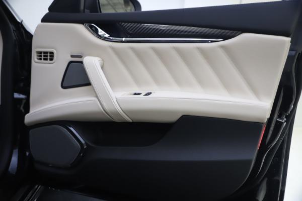 New 2021 Maserati Quattroporte S Q4 GranSport for sale $129,185 at Maserati of Greenwich in Greenwich CT 06830 21