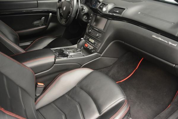 Used 2013 Maserati GranTurismo Sport for sale Sold at Maserati of Greenwich in Greenwich CT 06830 17