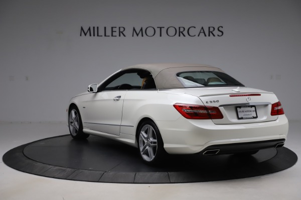 Used 2012 Mercedes-Benz E-Class E 550 for sale Call for price at Maserati of Greenwich in Greenwich CT 06830 14