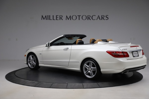 Used 2012 Mercedes-Benz E-Class E 550 for sale Call for price at Maserati of Greenwich in Greenwich CT 06830 3
