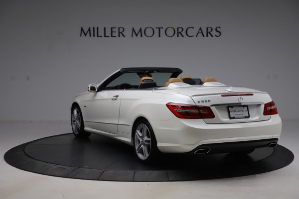 Used 2012 Mercedes-Benz E-Class E 550 for sale Call for price at Maserati of Greenwich in Greenwich CT 06830 4