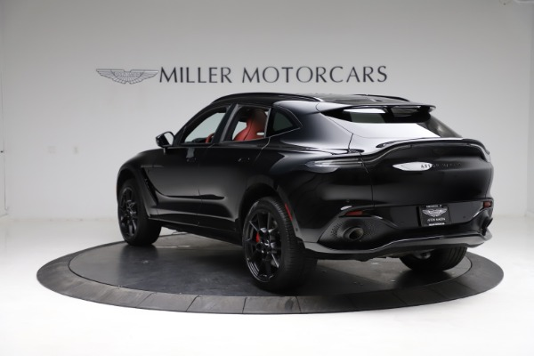 New 2021 Aston Martin DBX SUV for sale $200,986 at Maserati of Greenwich in Greenwich CT 06830 4