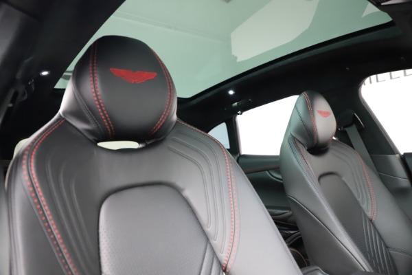 New 2021 Aston Martin DBX for sale $212,686 at Maserati of Greenwich in Greenwich CT 06830 22
