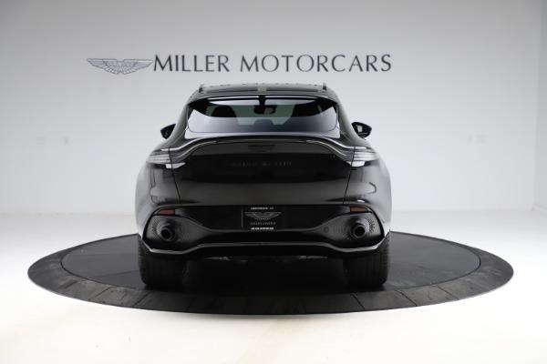 New 2021 Aston Martin DBX SUV for sale $212,686 at Maserati of Greenwich in Greenwich CT 06830 5