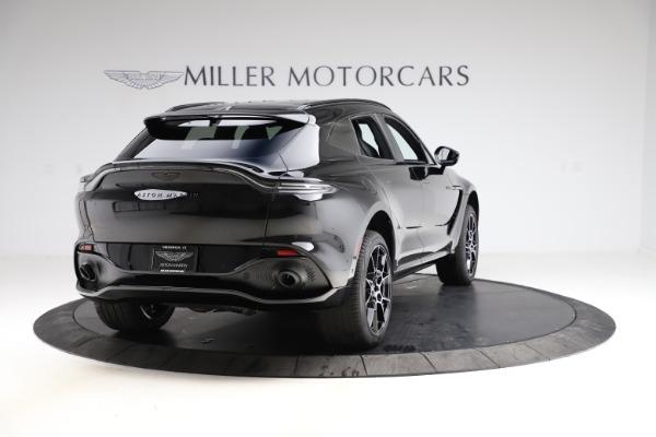 New 2021 Aston Martin DBX SUV for sale $212,686 at Maserati of Greenwich in Greenwich CT 06830 6
