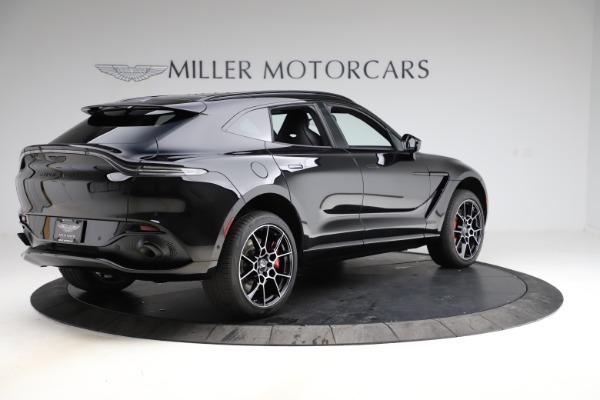 New 2021 Aston Martin DBX SUV for sale $212,686 at Maserati of Greenwich in Greenwich CT 06830 7