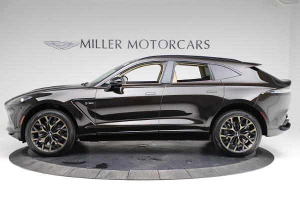New 2021 Aston Martin DBX SUV for sale $215,386 at Maserati of Greenwich in Greenwich CT 06830 2