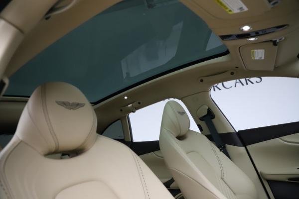 New 2021 Aston Martin DBX for sale $215,386 at Maserati of Greenwich in Greenwich CT 06830 25