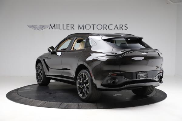 New 2021 Aston Martin DBX SUV for sale $215,386 at Maserati of Greenwich in Greenwich CT 06830 4