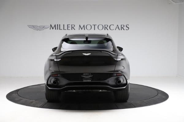 New 2021 Aston Martin DBX SUV for sale $215,386 at Maserati of Greenwich in Greenwich CT 06830 5