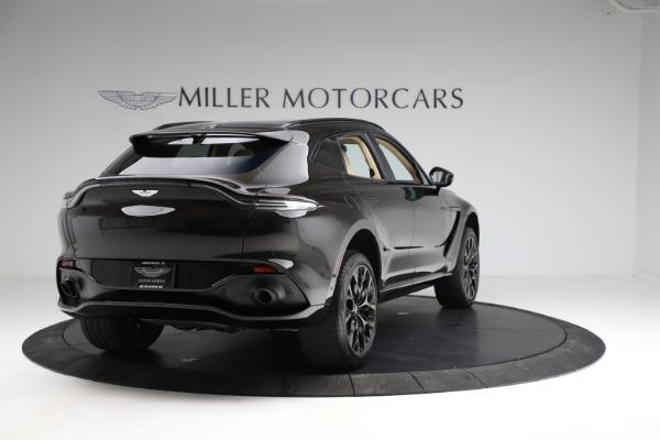 New 2021 Aston Martin DBX SUV for sale $215,386 at Maserati of Greenwich in Greenwich CT 06830 6