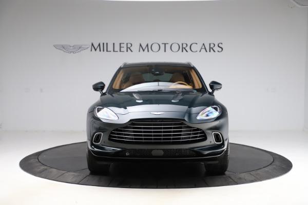 New 2021 Aston Martin DBX SUV for sale $221,386 at Maserati of Greenwich in Greenwich CT 06830 10