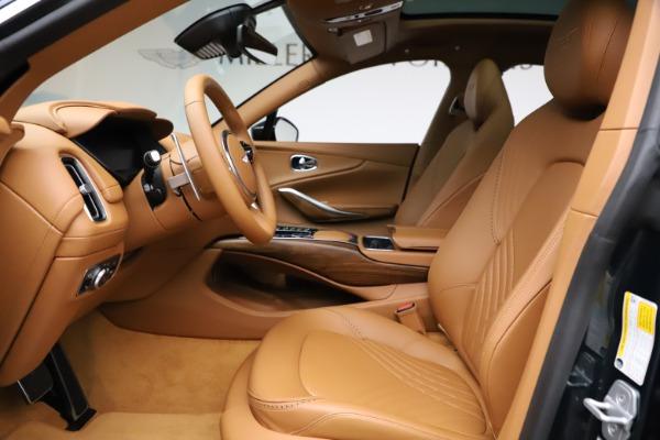 New 2021 Aston Martin DBX SUV for sale $221,386 at Maserati of Greenwich in Greenwich CT 06830 11