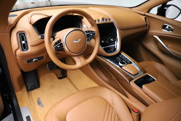 New 2021 Aston Martin DBX SUV for sale $221,386 at Maserati of Greenwich in Greenwich CT 06830 12