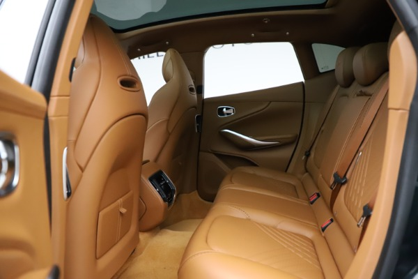 New 2021 Aston Martin DBX SUV for sale $221,386 at Maserati of Greenwich in Greenwich CT 06830 15