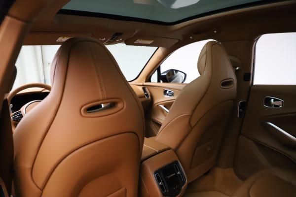 New 2021 Aston Martin DBX SUV for sale $221,386 at Maserati of Greenwich in Greenwich CT 06830 16