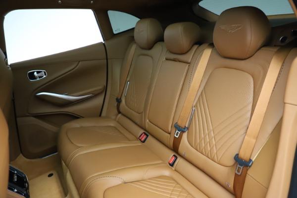 New 2021 Aston Martin DBX SUV for sale $221,386 at Maserati of Greenwich in Greenwich CT 06830 17