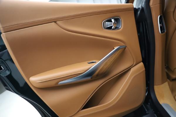 New 2021 Aston Martin DBX SUV for sale $221,386 at Maserati of Greenwich in Greenwich CT 06830 18