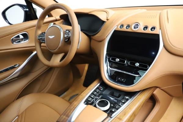 New 2021 Aston Martin DBX SUV for sale $221,386 at Maserati of Greenwich in Greenwich CT 06830 19