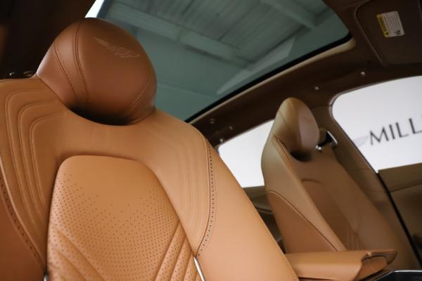 New 2021 Aston Martin DBX SUV for sale $221,386 at Maserati of Greenwich in Greenwich CT 06830 21