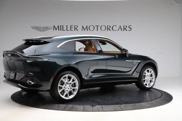 New 2021 Aston Martin DBX SUV for sale $221,386 at Maserati of Greenwich in Greenwich CT 06830 7