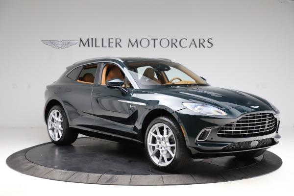 New 2021 Aston Martin DBX SUV for sale $221,386 at Maserati of Greenwich in Greenwich CT 06830 9