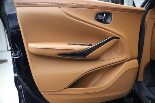 New 2021 Aston Martin DBX SUV for sale $264,386 at Maserati of Greenwich in Greenwich CT 06830 16