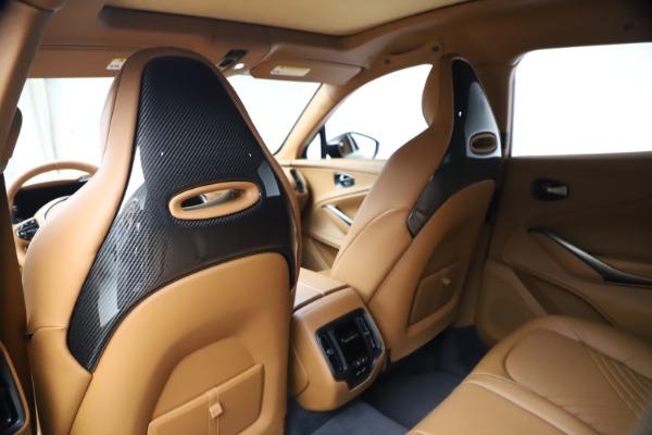 New 2021 Aston Martin DBX for sale $264,386 at Maserati of Greenwich in Greenwich CT 06830 18