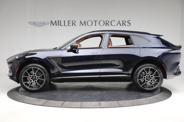 New 2021 Aston Martin DBX SUV for sale $264,386 at Maserati of Greenwich in Greenwich CT 06830 2