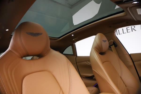 New 2021 Aston Martin DBX SUV for sale $264,386 at Maserati of Greenwich in Greenwich CT 06830 21