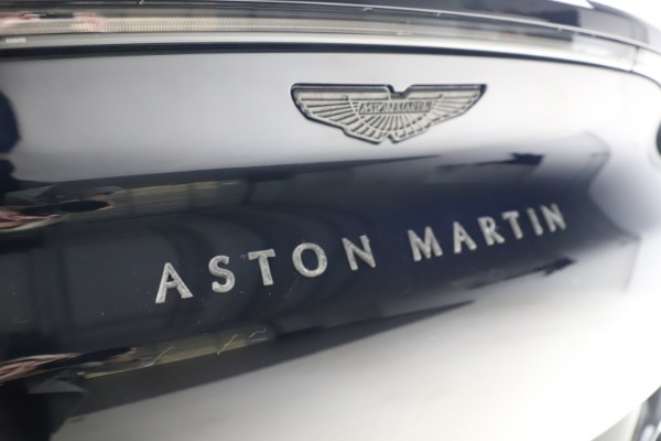New 2021 Aston Martin DBX SUV for sale $264,386 at Maserati of Greenwich in Greenwich CT 06830 25