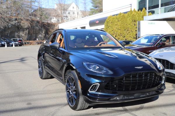 New 2021 Aston Martin DBX SUV for sale $264,386 at Maserati of Greenwich in Greenwich CT 06830 28