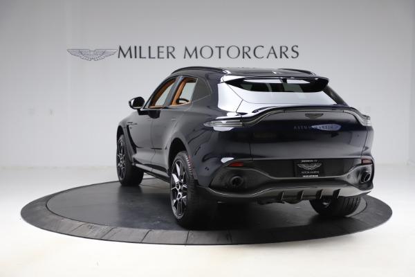 New 2021 Aston Martin DBX SUV for sale $264,386 at Maserati of Greenwich in Greenwich CT 06830 4