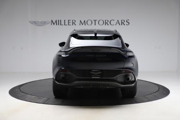 New 2021 Aston Martin DBX SUV for sale $264,386 at Maserati of Greenwich in Greenwich CT 06830 5