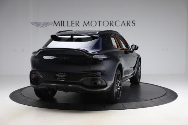 New 2021 Aston Martin DBX SUV for sale $264,386 at Maserati of Greenwich in Greenwich CT 06830 6
