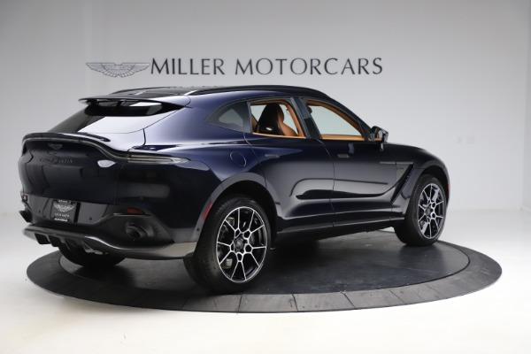 New 2021 Aston Martin DBX SUV for sale $264,386 at Maserati of Greenwich in Greenwich CT 06830 7