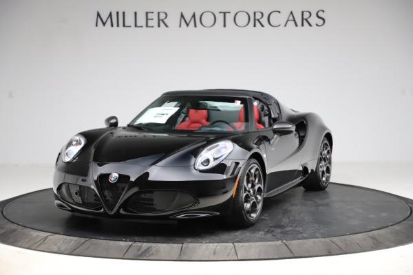 New 2020 Alfa Romeo 4C Spider for sale $75,445 at Maserati of Greenwich in Greenwich CT 06830 1