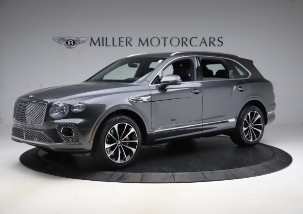 New 2021 Bentley Bentayga V8 for sale $213,720 at Maserati of Greenwich in Greenwich CT 06830 2
