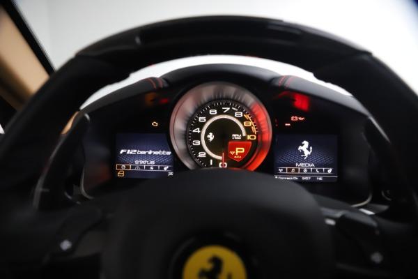 Used 2017 Ferrari F12 Berlinetta for sale $269,900 at Maserati of Greenwich in Greenwich CT 06830 28