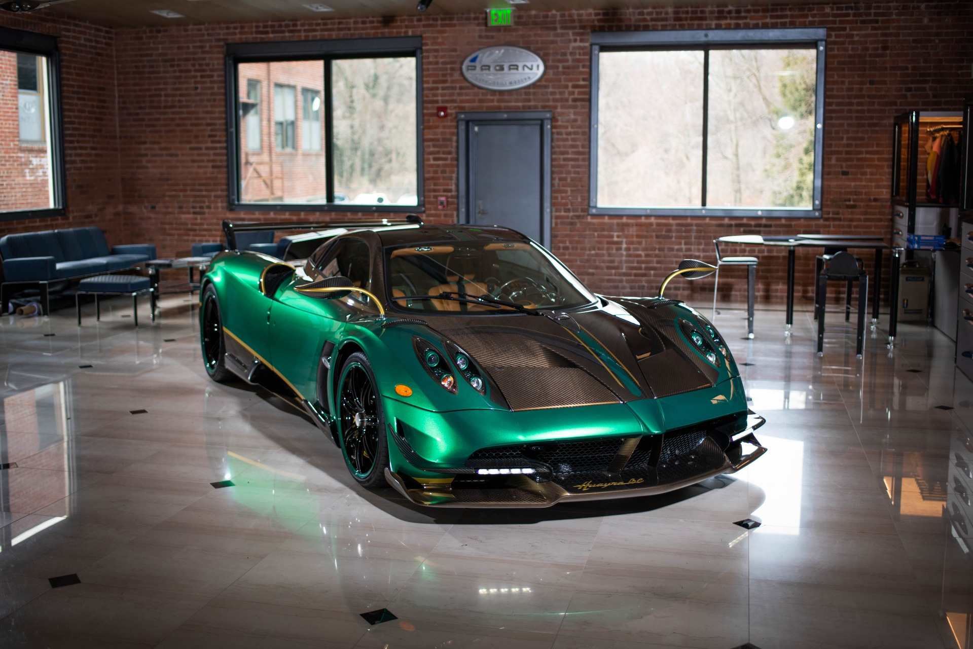 Used 2017 Pagani Huayra BC for sale Call for price at Maserati of Greenwich in Greenwich CT 06830 1