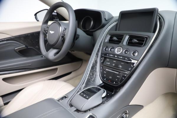 New 2021 Aston Martin DB11 Volante Convertible for sale $270,386 at Maserati of Greenwich in Greenwich CT 06830 23