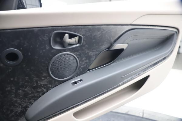 New 2021 Aston Martin DB11 Volante Convertible for sale $270,386 at Maserati of Greenwich in Greenwich CT 06830 24