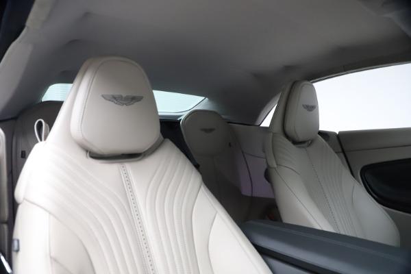 New 2021 Aston Martin DB11 Volante Convertible for sale $270,386 at Maserati of Greenwich in Greenwich CT 06830 25