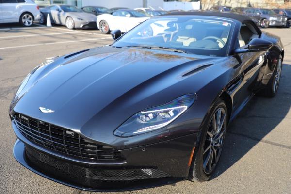 New 2021 Aston Martin DB11 Volante Convertible for sale $270,386 at Maserati of Greenwich in Greenwich CT 06830 27